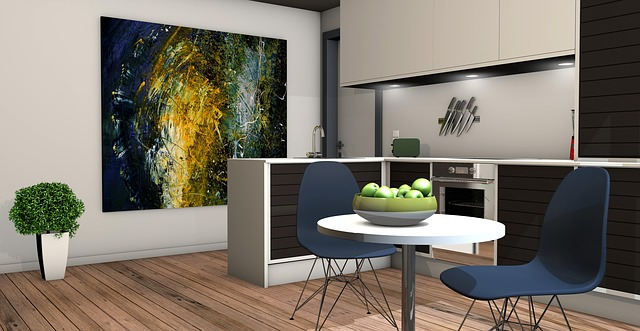 kitchen accent wall for home improvement